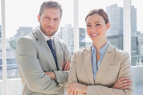 Tarifwechsel Private Krankenversicherung LVM - Wechsel PKV - Lächelnde Ansprechpartner