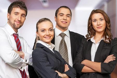 Tarifwechsel Private Krankenversicherung BBV - Wechsel PKV - Junges Geschäftsleute Team