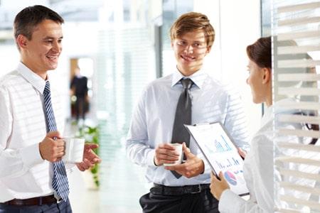 Tarifwechsel Private Krankenversicherung DEVK - Wechsel PKV - Team in Besprechung