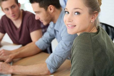 Tarifwechsel Private Krankenversicherung Ergo Direkt - Wechsel PKV - Freundliche Ansprechpartnerin